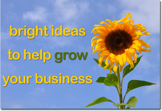 Bright ideas to help grow your business